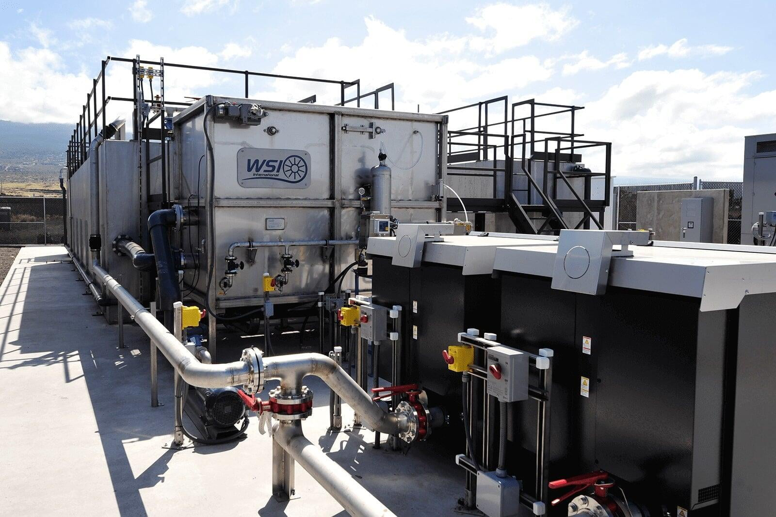 Modular Wastewater Treatment Plant