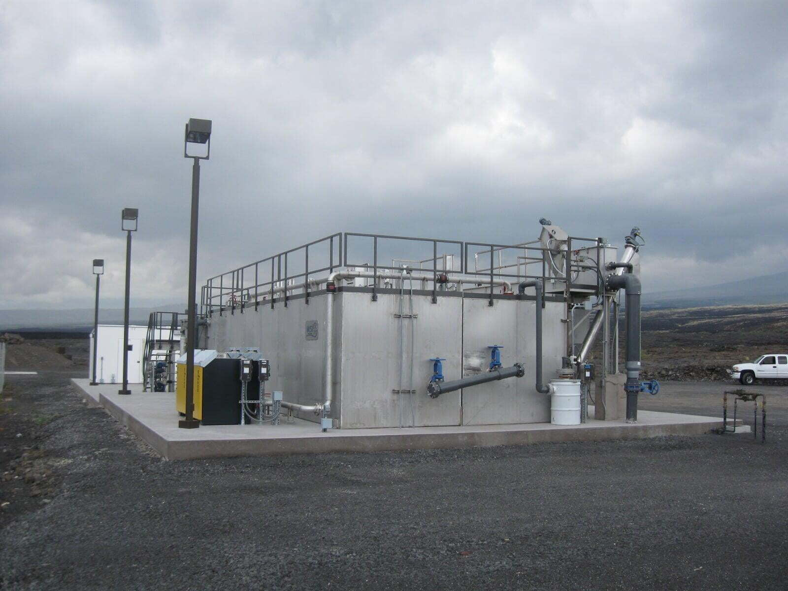Wastewater Plant BCR Tanks