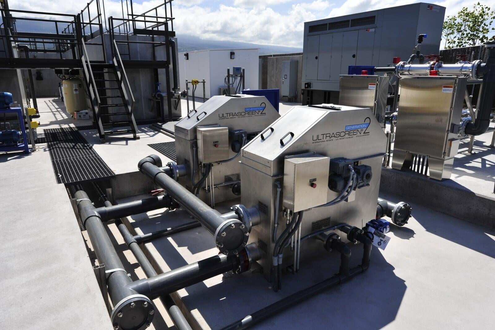 Wastewater Plant Filtration